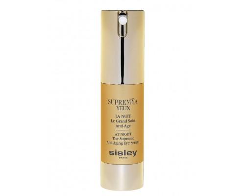 Ночная антивозрастная сыворотка для кожи вокруг глаз Sisley Supremya Yeux La Nuit Le Grand Soin Anti Age,15ml