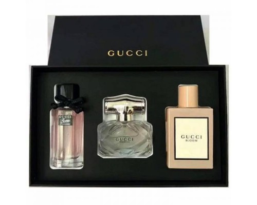 Подарочный набор Gucci Three Sets Perfume