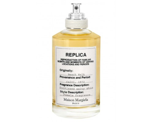 "Туалетная вода Maison Martin Margiela ""Replica Beach Walk"", 100 ml"