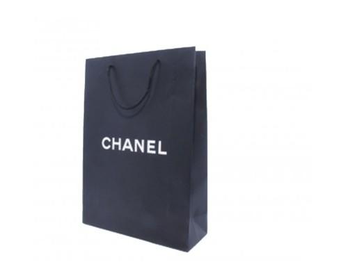 Пакет Шанель черный