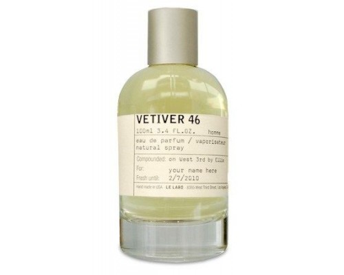 "Парфюмерная вода Le Labo ""Vetiver 46"", 100 ml (Luxe)"