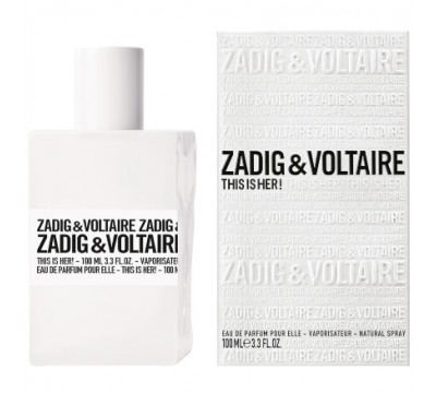"""Парфюмерная вода Zadig Voltaire """"This is Her"""", 100 ml (Luxe)"""